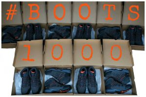 #Boots1000