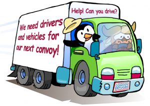 call for drivers