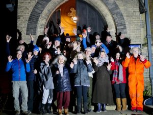 sleepout volunteers