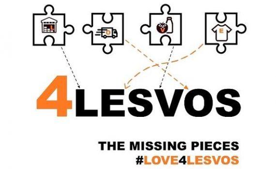 Love4Lesvos fundraiser logo