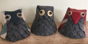 Poncho Project Owl Doorstop Workshop