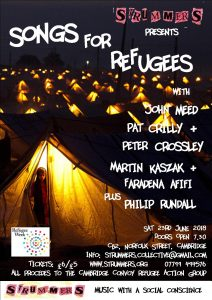 Strummers Refugee Week Concert