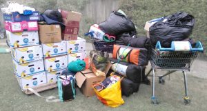 Donations from St Johns Hills Road July 2018