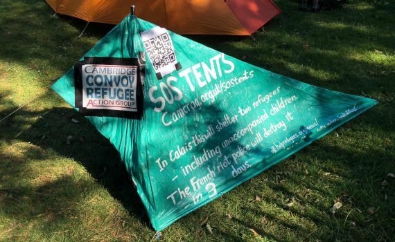 SOS Tent at Folk Festival