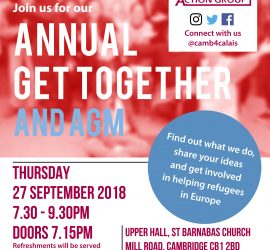 AGM flyer and poster front
