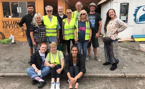 July Convoy volunteers