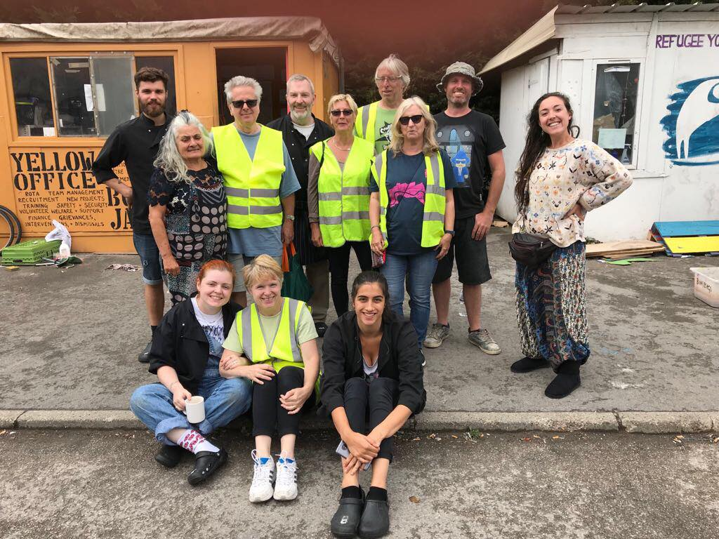 July Convoy volunteers