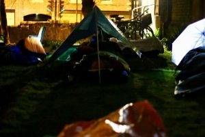Sleep Out at St Giles