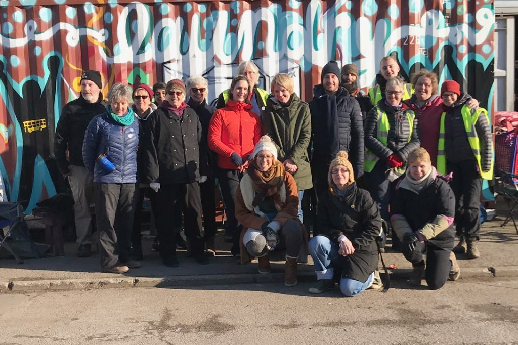 The January 2019 CamCRAG Convoy group of volunteers