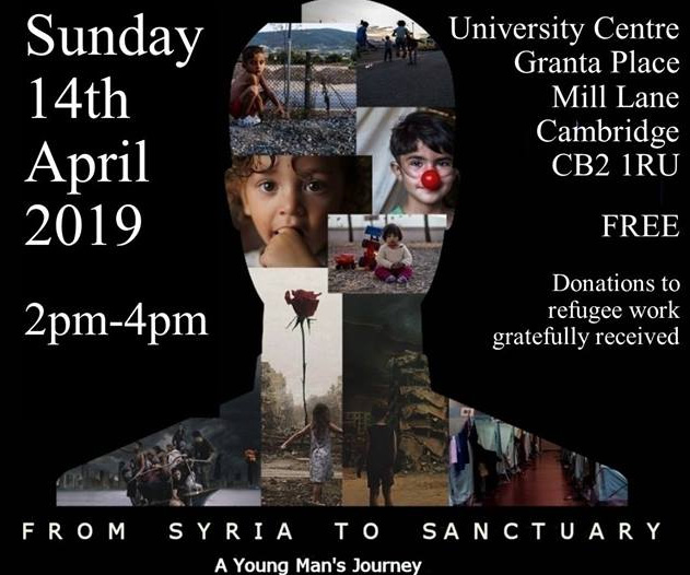 syria to sanctuary poster top half